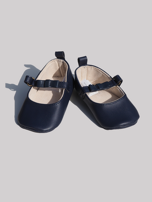 Leather T-Bar Pram Shoes (0-24mths) - Dippla.Shop