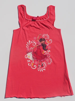 Disney Elena of Avalor Short Sleeve Red Dress - Dippla.Shop