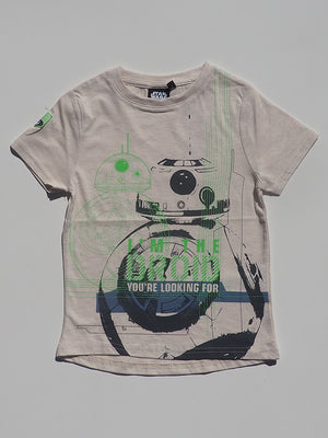 Disney Star Wars White T-Shirt (4-12yrs) - Dippla.Shop