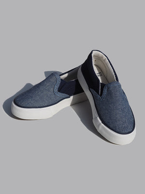 ZY Baby Boy Navy Blue Slip-On Shoes (EU 21) - Dippla.Shop