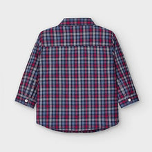 Load image into Gallery viewer, Blue Poplin Boys Shirt