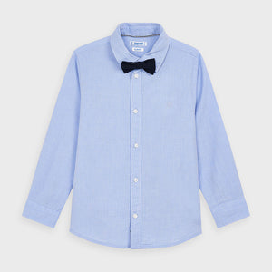 LS Boys Button Down w/Bow Tie
