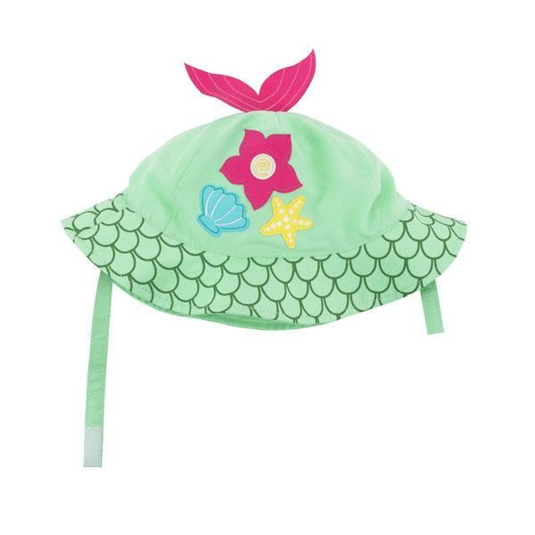 Zoocchini Sun Hat - Mermaid