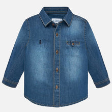 Load image into Gallery viewer, Denim Shirt Long Sleeve - Mayoral