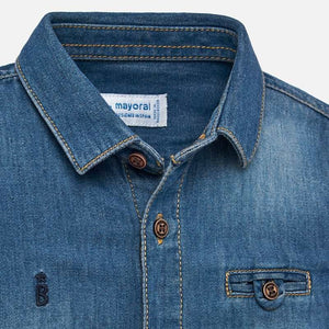 Denim Shirt Long Sleeve - Mayoral