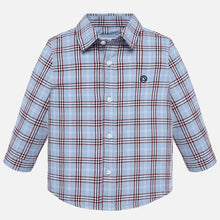 Load image into Gallery viewer, Cloud Blue Plaid Button Down - Mayoral