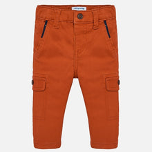Load image into Gallery viewer, Red Orange Cargo Pants