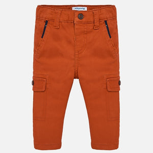 Red Orange Cargo Pants