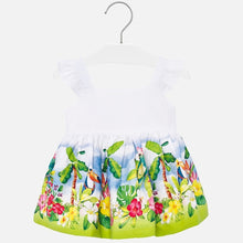 Load image into Gallery viewer, Tropical Baby Sundress - Pistachio