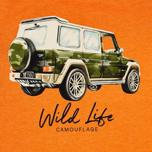 Load image into Gallery viewer, Orange Jeep Tee Set
