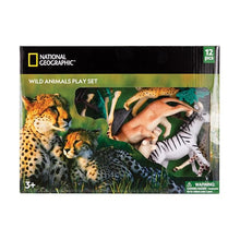 Load image into Gallery viewer, National Geographic Wild Animal Playset
