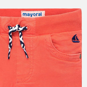 Mayoral Baby Boy Coral Pants