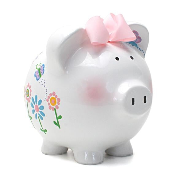 Flutterflies Piggy Bank