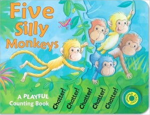 Five Silly Monkeys Sound Book