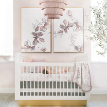 Load image into Gallery viewer, Bella Floral Crib Sheet