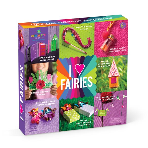 I love Fairies Craft Kit