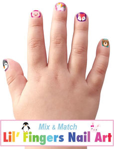 Finger Nail Stickers