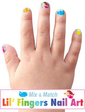 Load image into Gallery viewer, Finger Nail Stickers