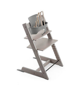 Tripp Trapp Highchair Oak including Chair & Matching Baby Set
