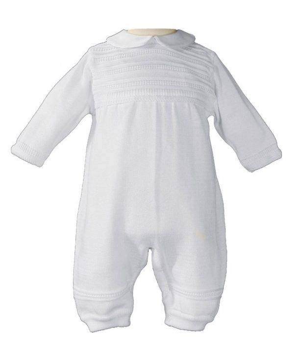 Boys Baptism convertible set - 100% cotton