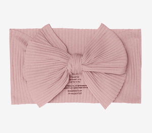 Posh Peanut - Solid Dusty Rose Molly Headwrap