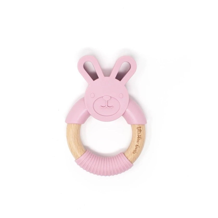 Bunny Ear Teething Ring