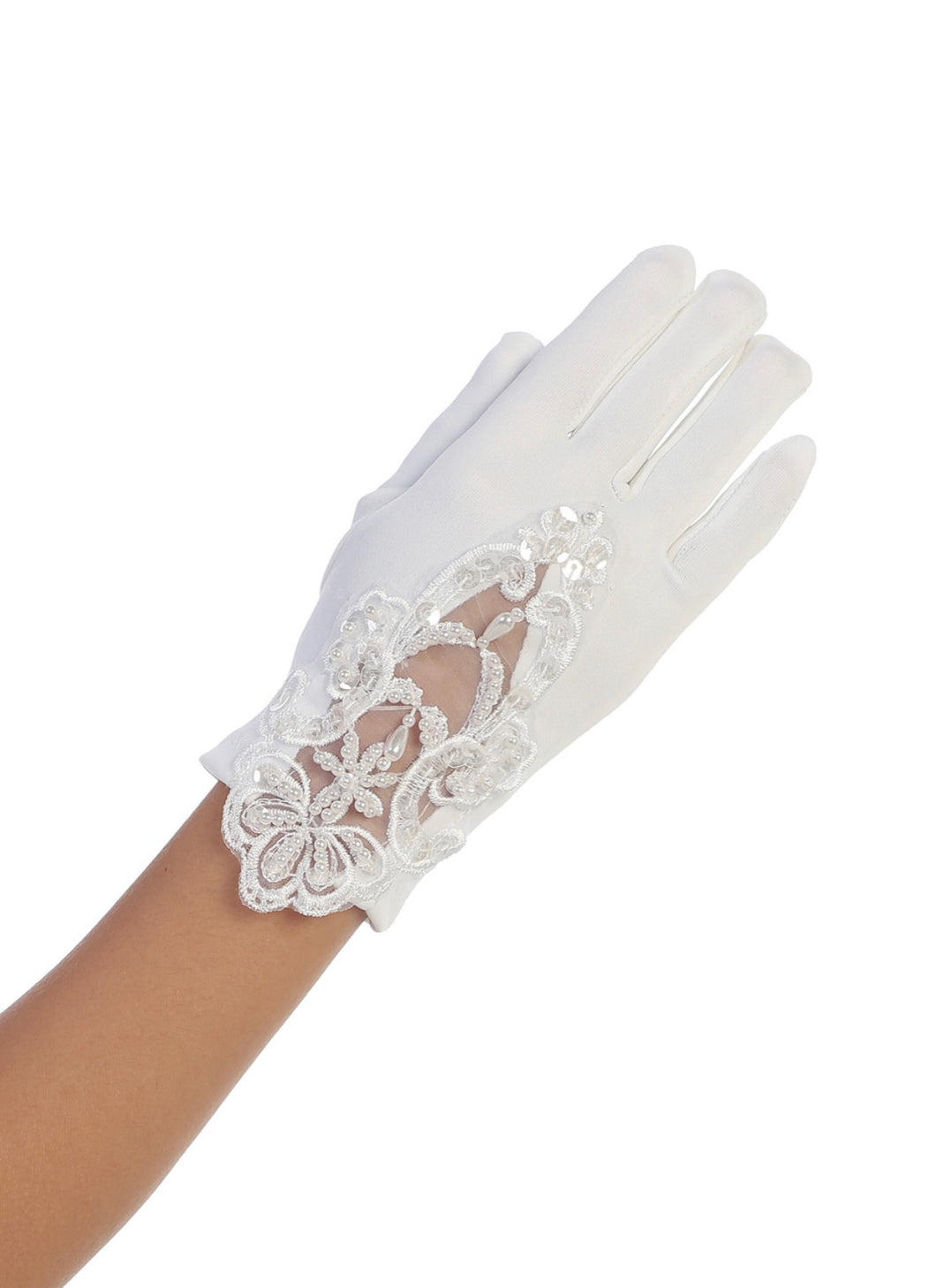 Beaded Gloves Size 8-14