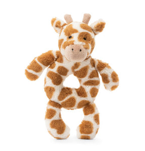 Bashful Giraffe Ring Rattle