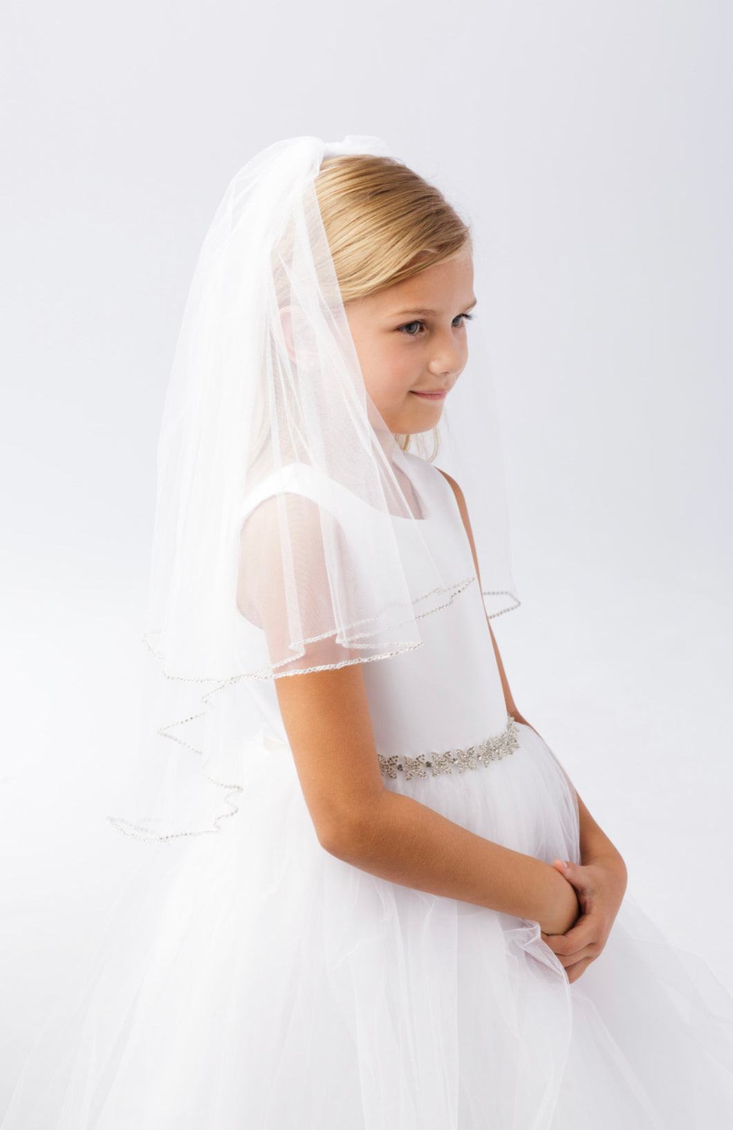 Lucy First Holy Communion Veil