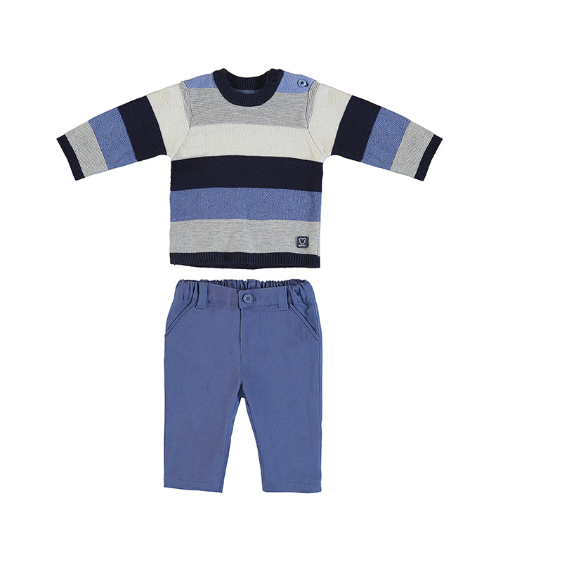 The Blues Sweater & Trouser Set