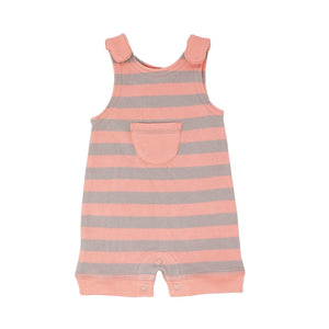 Lovedbaby Striped Organic Sleevless Romper