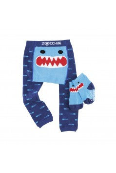 Zoocchini Legging and Sock Set - Shark