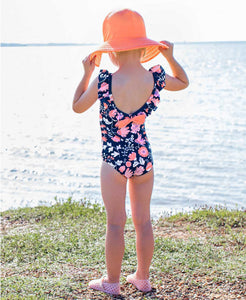 Botanical Beach One Piece Swim Suit