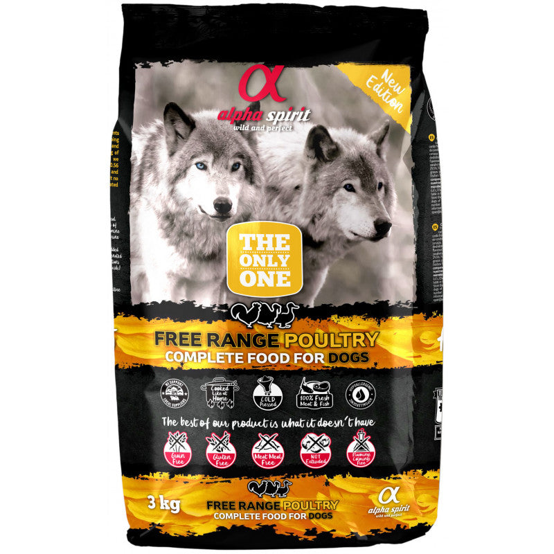 Alpha Spirit The Only One Aves de corral 3 kg