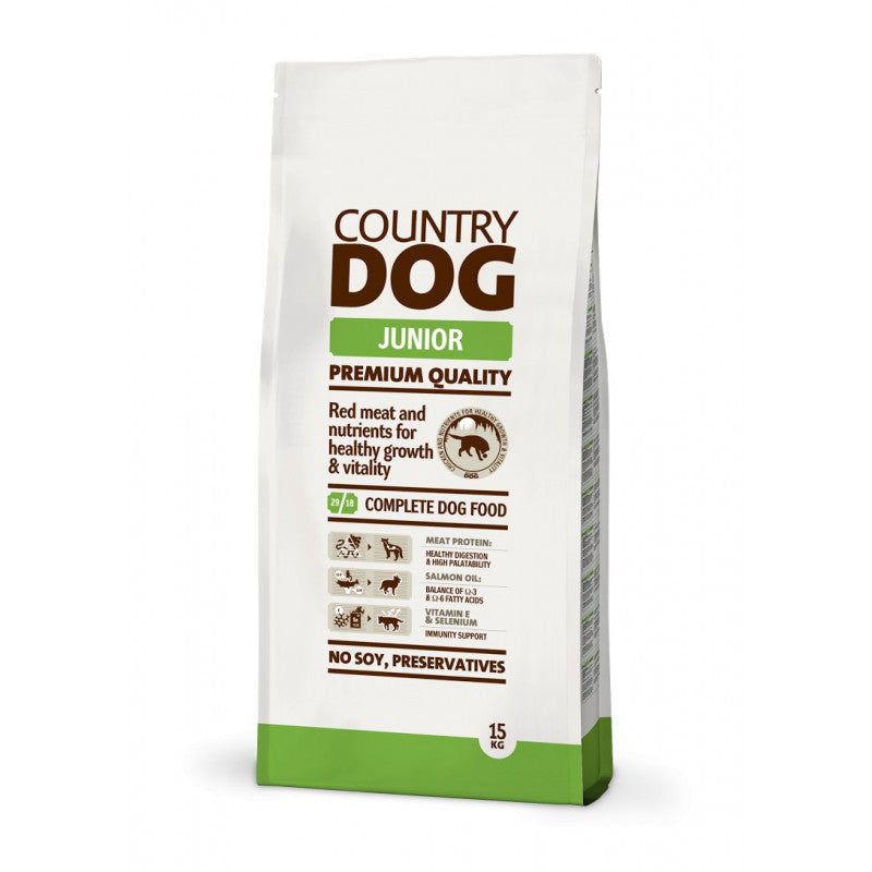 Country Dog Food Junior 15Kg