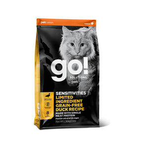 GO! SENSITIVITIES Limited Ingredient Grain Free Duck Cat 1,4kg