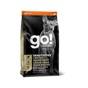 GO! SENSITIVITIES Limited Ingredient Grain Free Duck Dog 1,6kg