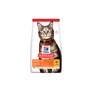 Hills feline Adulto optimal care pollo 1,5 kg