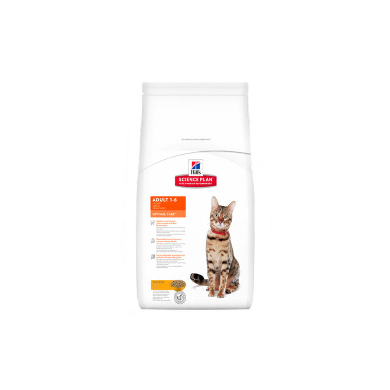 Hills Feline Adult Optimal Care Pollo 10kg