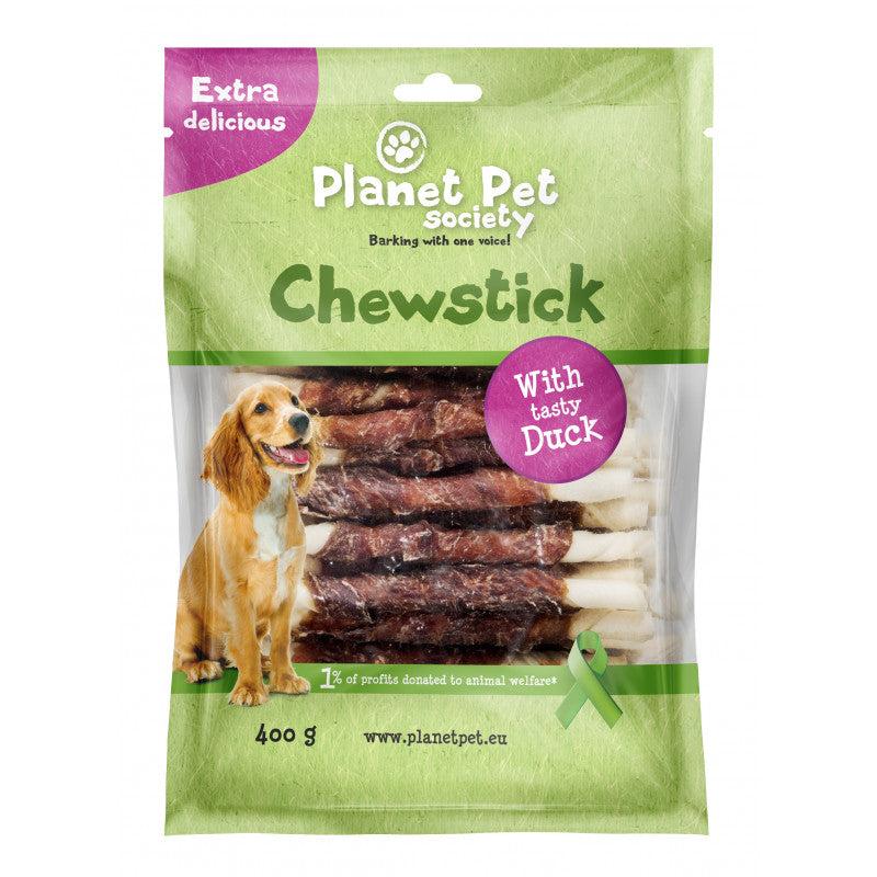 Planet Pet Chewbones Stick Pato 400gr