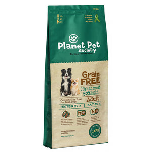 Planet Pet Grain Free Cordero y Patatas 12Kg