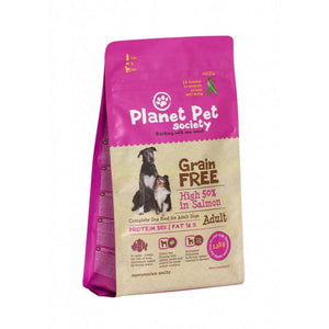 Planet Pet Grain Free Salmon y Patatas 2,5Kg
