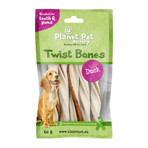 Planet Pet Rollito Dental Pato 5 uds. 60gr