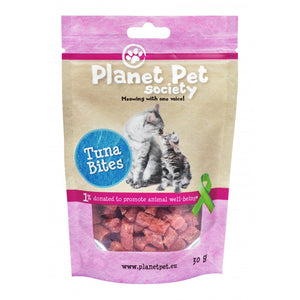 Planet Pet Snack Gato bites atun 30 gr