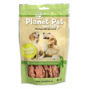 Planet Pet Snack tiras de conejo 80 gr