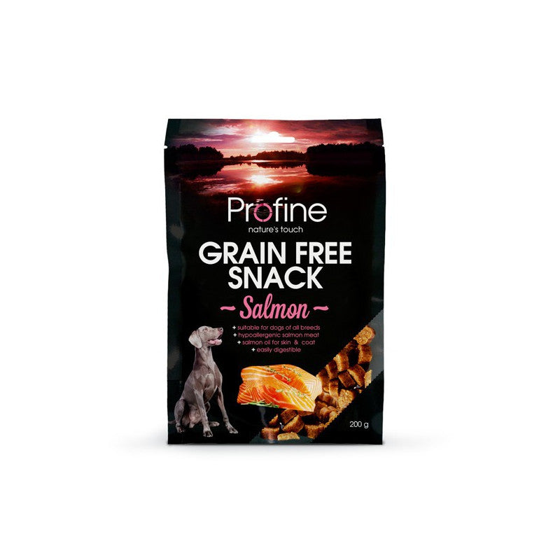 Profine Grain Free Snack Salmon 200gr