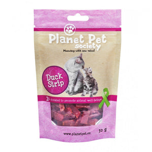 Planet Pet Gato Snack Tacos de Pato 30gr