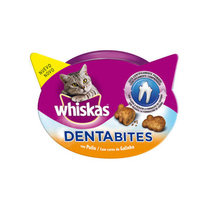 Whiskas Dentabites con pollo 40gr (x8)