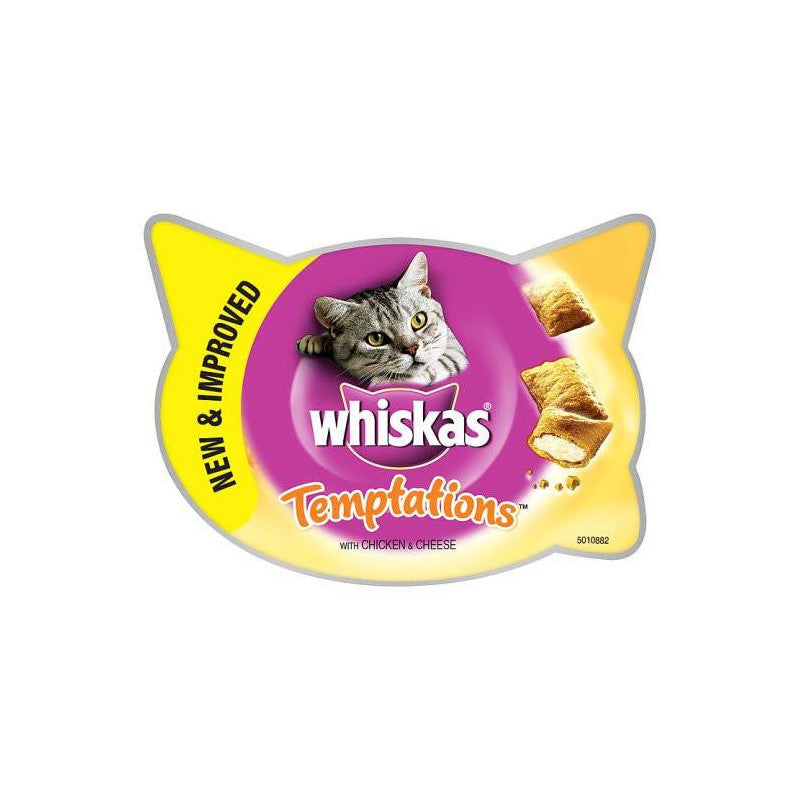 Whiskas Temptations Pollo 60g (x8)