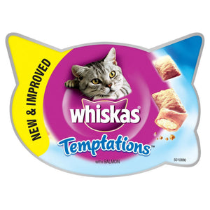 Whiskas Temptations Salmon 60g (x8)